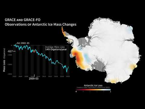 antarctic ice mass loss 2002 2020 - Antarctic Ice Mass Loss 2002-2020