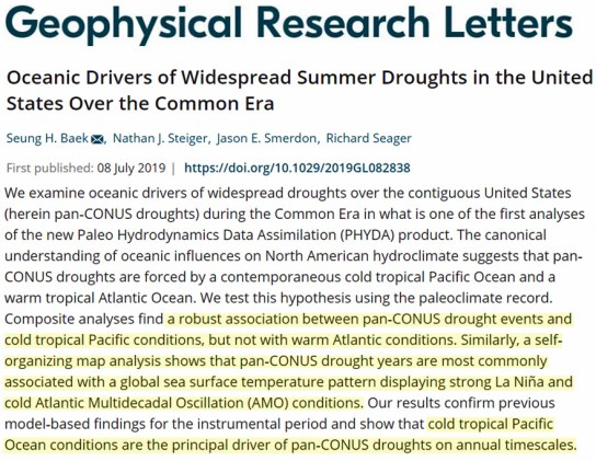 new study drought in western us is 84 driven by internal variability and 16 by ocean cooling 3 - New Study: Drought In Western US Is 84% Driven By Internal Variability And 16% By Ocean Cooling
