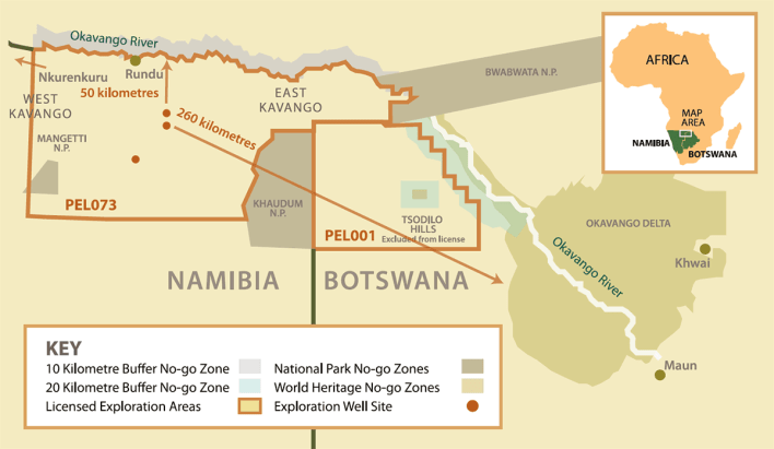 a big oil project in africa threatens fragile okavango region - A Big Oil project in Africa threatens fragile Okavango region