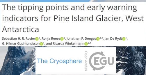 debunked new computer simulated pine island glacier doomsday paper by rosier et al ignores lots of science - Debunked: New Computer Simulated Pine Island Glacier Doomsday Paper By Rosier et al Ignores Lots Of Science
