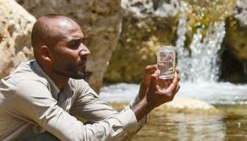 jordan is racing against time to save a tiny rare fish from extinction as falling water levels partly triggered by global warming threaten to dry up its last habitat - Go Vegan to save the world