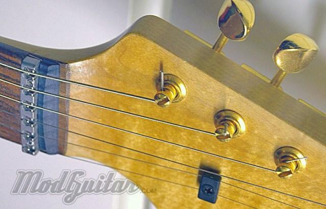 Gotoh brand, Klusen style vintage button style locking tuner