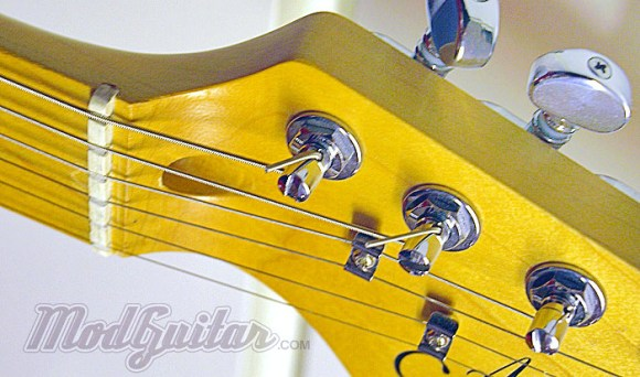 Gotoh brand locking tuners for Stratocaster style Guitar