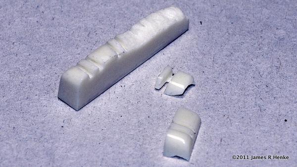 Broken Mandolin Nut