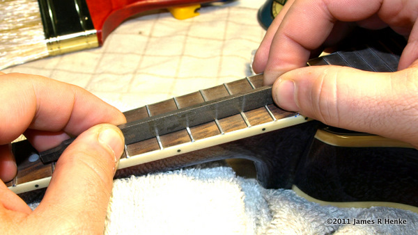 Rocking A File Over High Frets