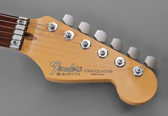 Strat Plus headstock.