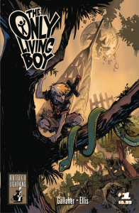 The Only Living Boy returns with a Kickass Second Issue!