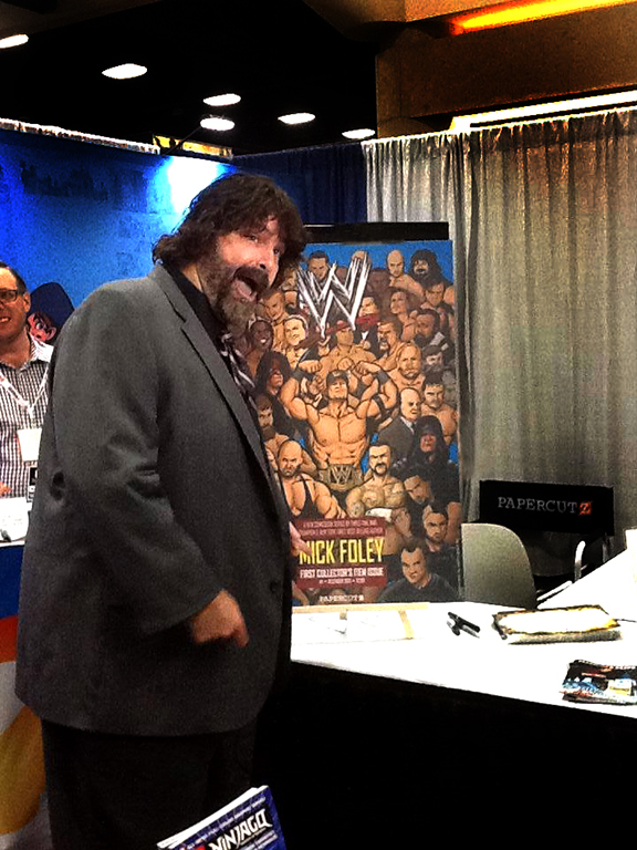 Mick Foley / Papercutz / Comic-Con 2013