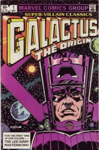 Galactus The Origin Cover
