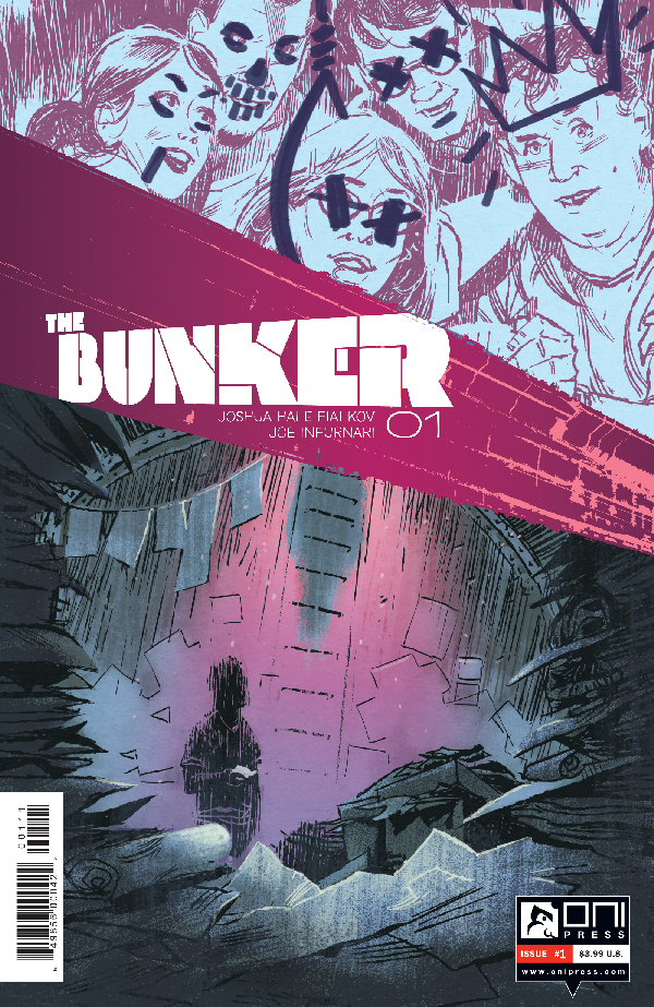 Oni Press Is Breaking The Digital Mold With The Bunker #1 - 02/14