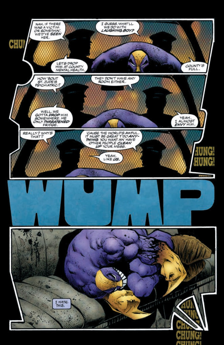 The Maxx 1 Remastered Look At These Pages Whatcha Reading
