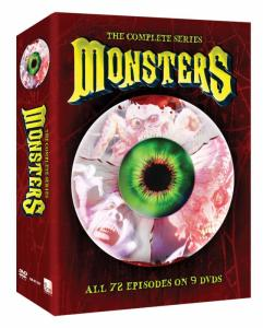 MONSTERS: THE COMPLETE SERIES Comes to DVD this March!