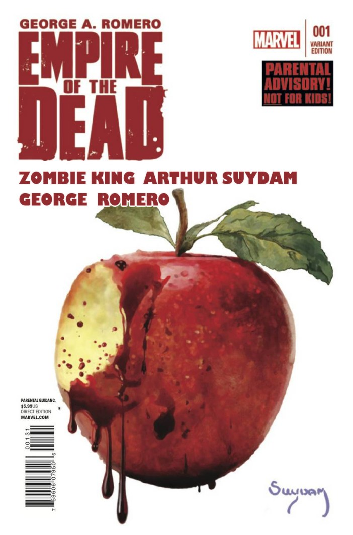 Empire of the Dead, George Romero and Arthur Suydam bring the zombie goodness!
