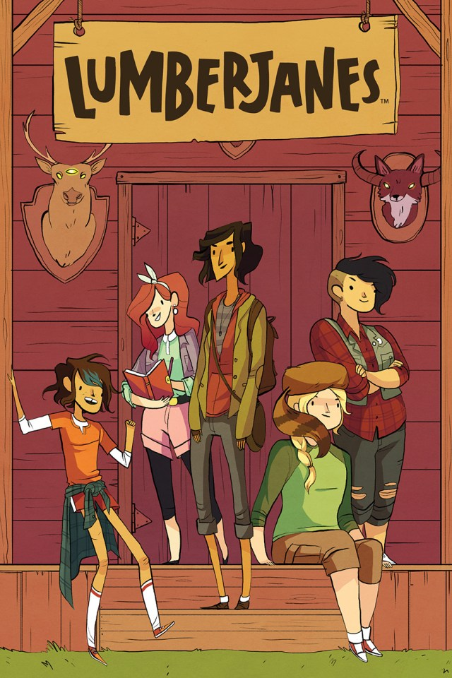 BOOM! Studios Takes Camping to the max with 'LUMBERJANES'
