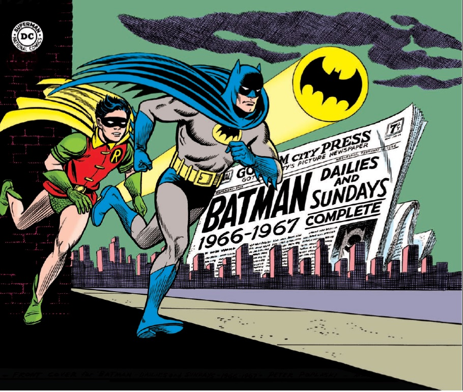Preview Batman Silver Age Newspaper Comics Vol 1 1966 1967 HC From IDW Whatcha Reading