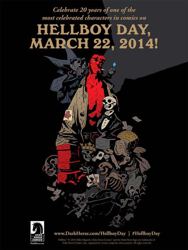 Hellboy Day March 22nd! Come Meet The Greats!