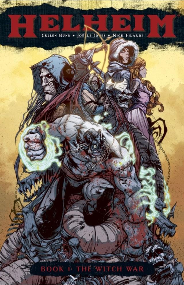 Helheim, Volume 1: The Witch War - Viking Horror That Belongs on Your Bookshelf