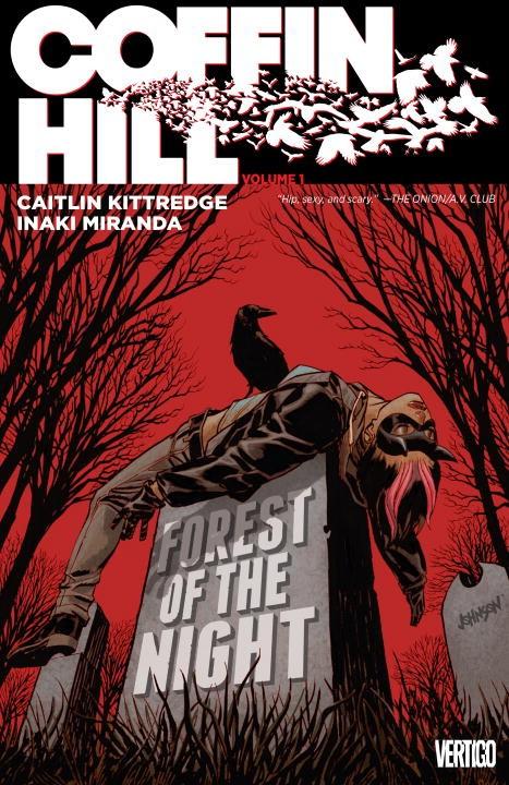 Coffin Hill Vol 1. From Vertigo - Scary Gorgeous Horror!