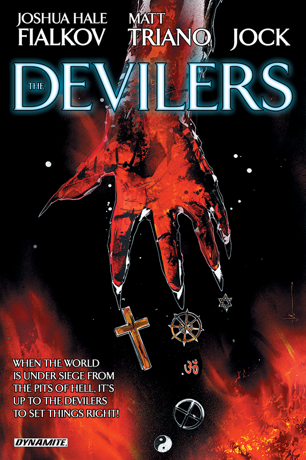Preview - The Devilers! Coming in July from Dynamite
