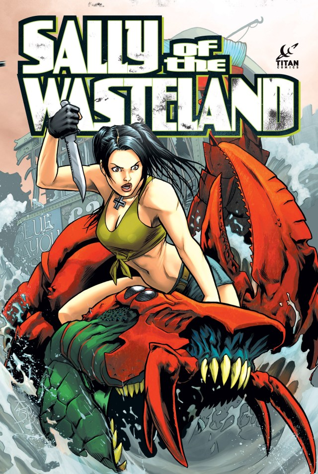 """Titan Comics """"Sally of the Wasteland"""" Gets Tim Seeley Variant!"""