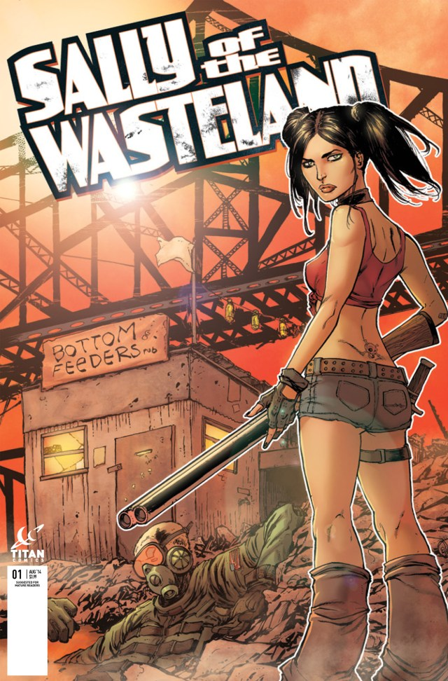 Variant Cover by TIM SEELEY (Hack/Slash)!