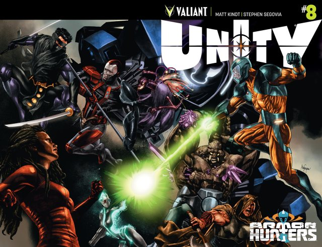 Unity #8 - Bloodshot finds a new home!