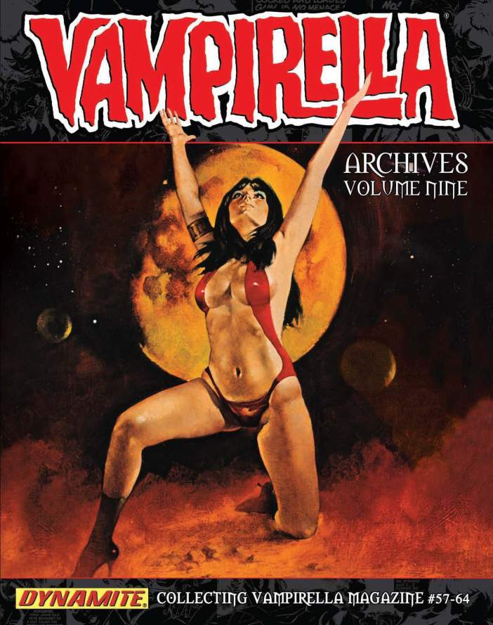 Vampirella Archives Vol. 9 Collects Vampirella Magazine Issues 57-64