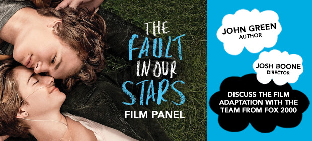 "BookCon Announces ""The Fault in our Stars"" panel featuring John Green"