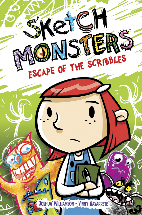 Review - Sketch Monsters: Escape of The Scribbles from Oni Press