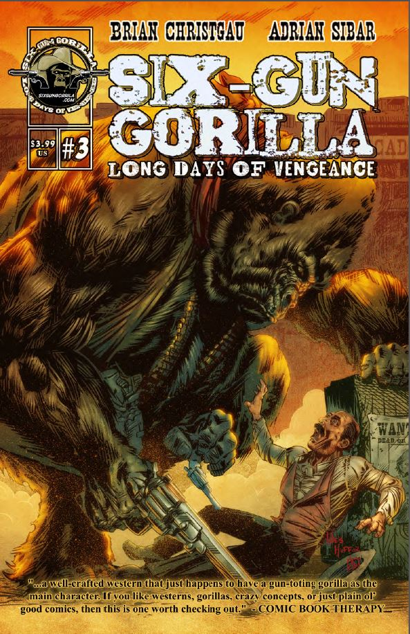 Review: Six Gun Gorilla: Long Days of Vengeance #3