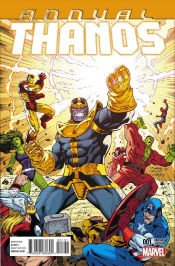Threat Level WEDNESDAY Thanos Gets Starlined