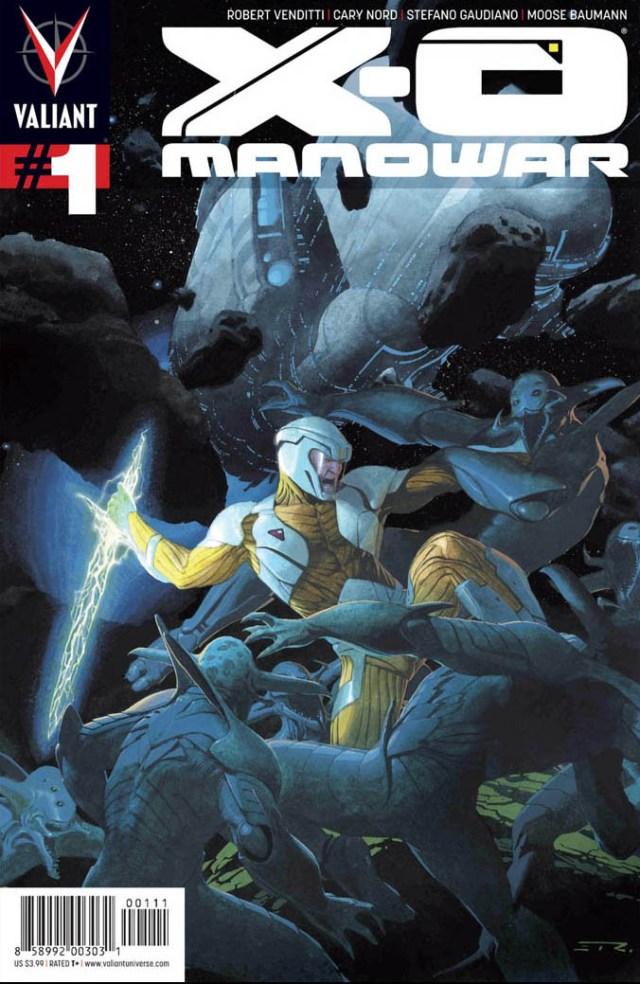 X-O Manowar #25 - Blockbuster Anniversary Issue has it all!!!