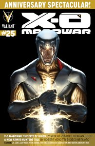 Preview: X-O Manowar #25 (Prelude to Armor Hunters)!