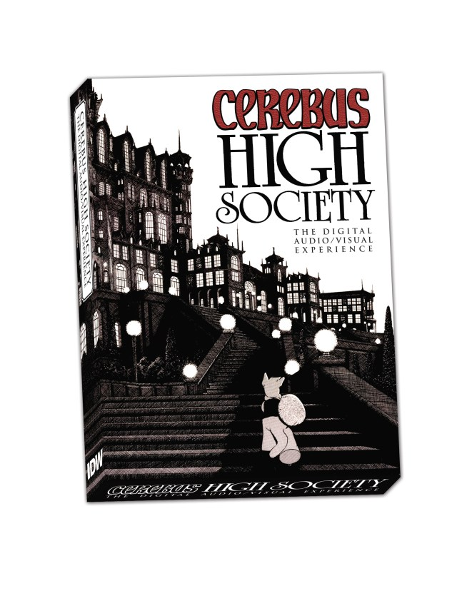 Cerebrus: High Society Comes Alive in a New Digital DVD Release from IDW