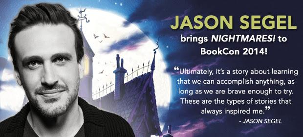 Jason Segel Brings Nightmares To BookCon Whatcha Reading