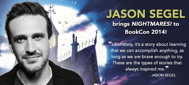 Jason Segel Brings Nightmares to BookCon