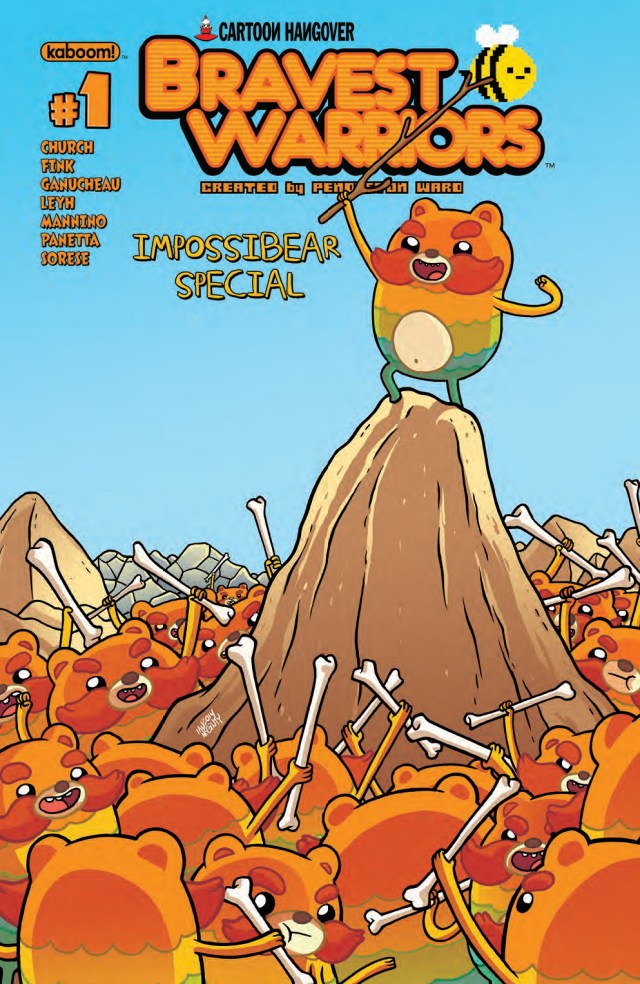 IMPOSSIBEAR TAKES CENTER STAGE IN 'BRAVEST WARRIORS 2014 IMPOSSIBEAR SPECIAL'