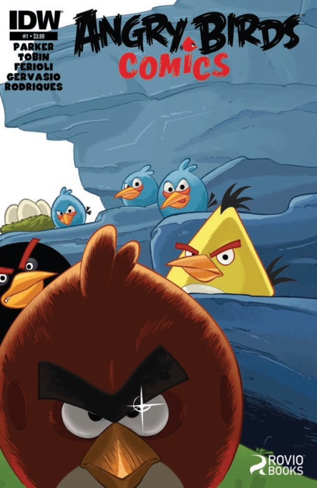 Preview: Angry Birds Comics #1 - Cute, and Explody!