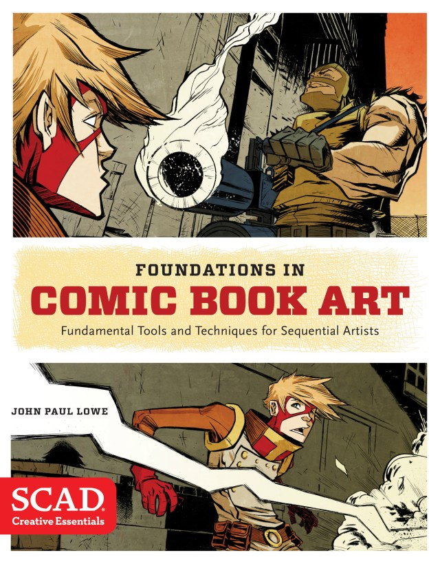 Review: Foundations in Comic Art - Demands A Space on the Artist's Bookshelf!