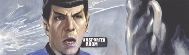 IDW Star Trek Harlan Ellison's The City on the Edge of Forever #1 J.K. Woodward interior art panel 1