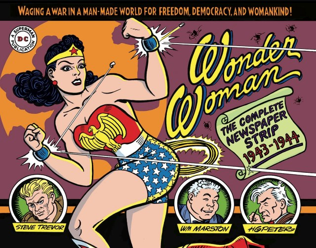 Wonder Woman's 1940s Newspaper Comics Coming From IDW!