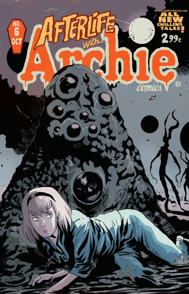 Preview Afterlife With Archie #6 - Witch in the Dream House!