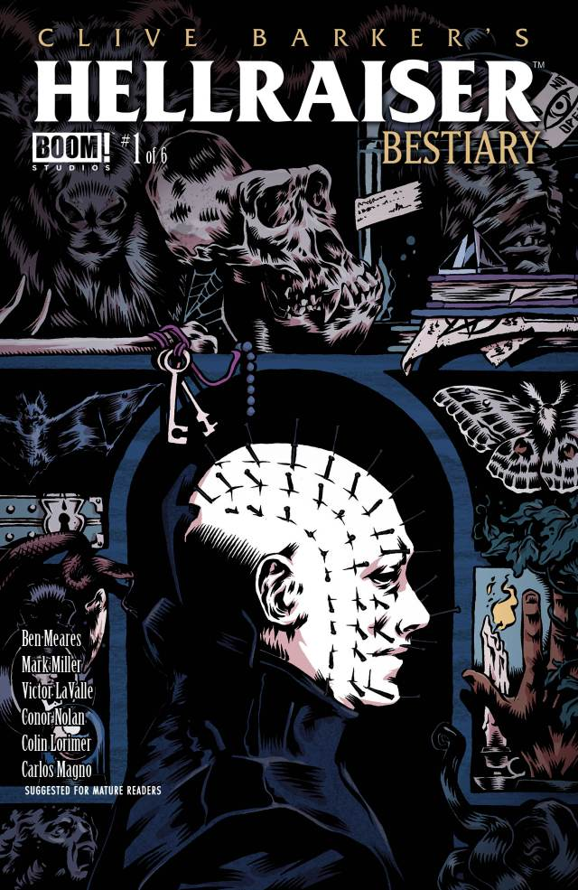 CLIVE BARKER'S HELLRAISER: BESTIARY #1 Main Cover by Conor Nolan