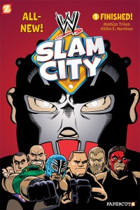 WWE's Hit Animated Series WWE Slam City Graphic Novel Coming In August!