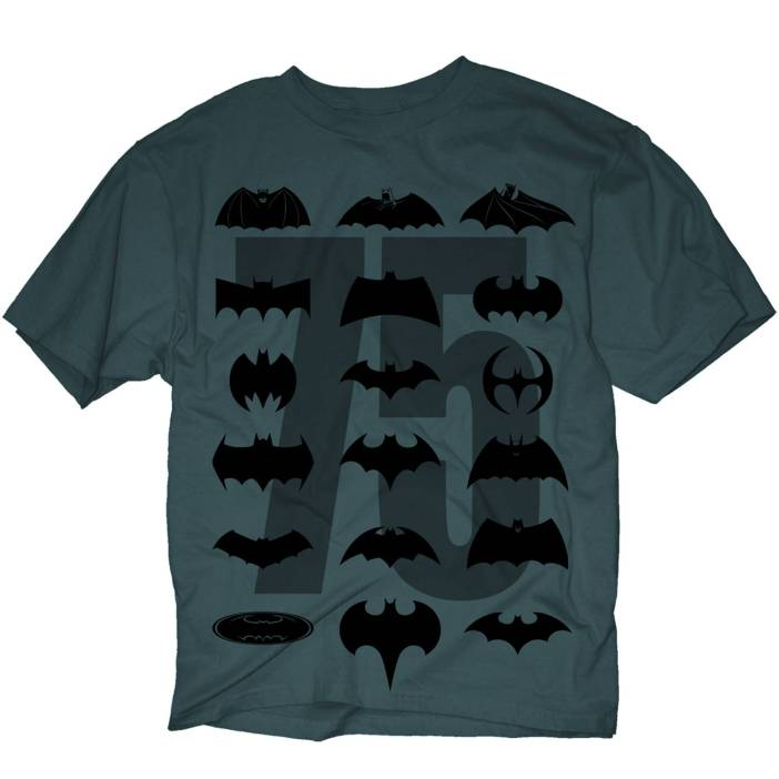 Batman Apparel - Back To School, In Black!