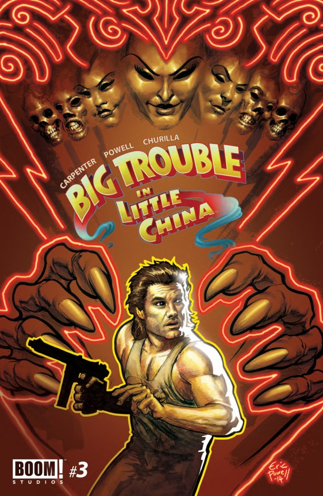 Preview/Review Big Trouble in Little China #3 - More Fun Than a Barrel of Pete the Demons.