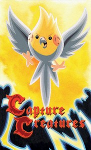 CAPTURE CREATURES #2 Main Cover by Becky Dreistadt