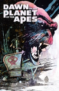 DAWN OF THE PLANET OF THE APES #2 Main Cover by Christopher Mitten