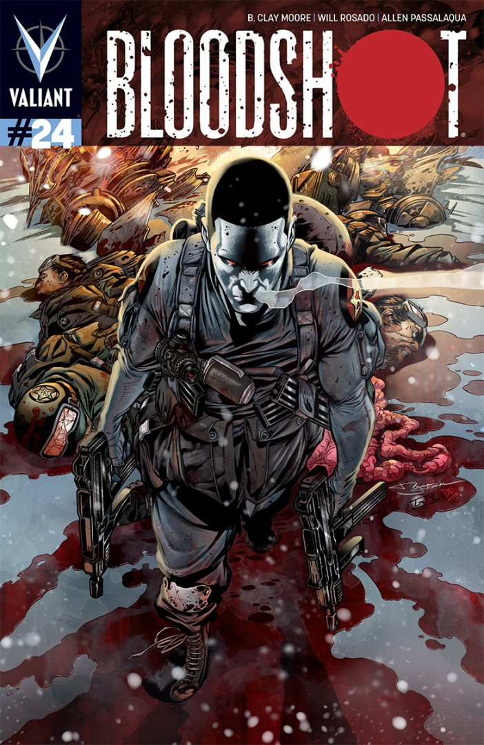 First Look! Bloodshot#24 - Flashback to a Bloodbath, Soviet Style!