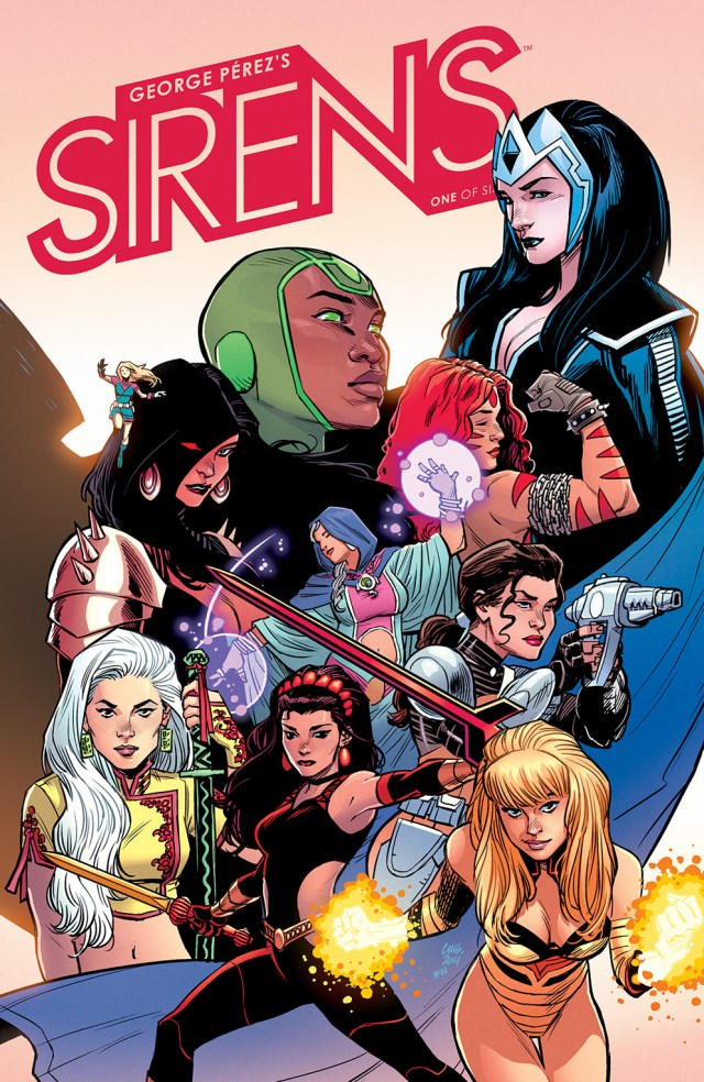 Preview/Review Sirens #1 The New Miniseries from George Perez